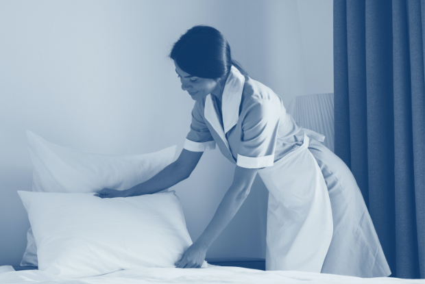 fully automated, uniform and workwear solution suitable for use by all hotel employees